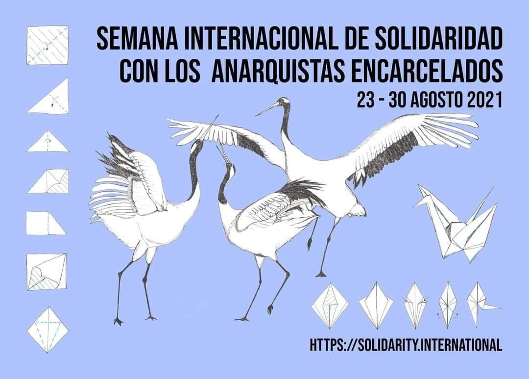 Setmana Internacional de Solidaritat amb els Anarquistes Empresonats