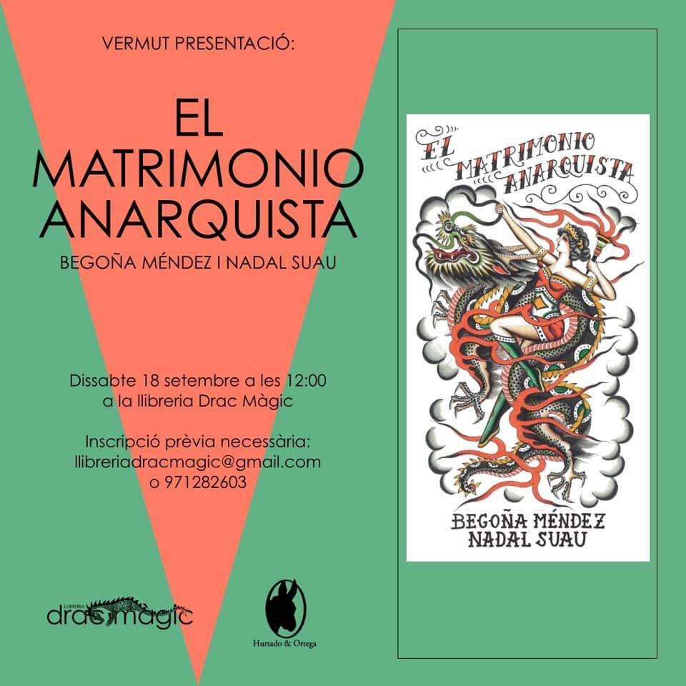 "Presentacio ""El matrimonio anarquista"" (18-09-21)"