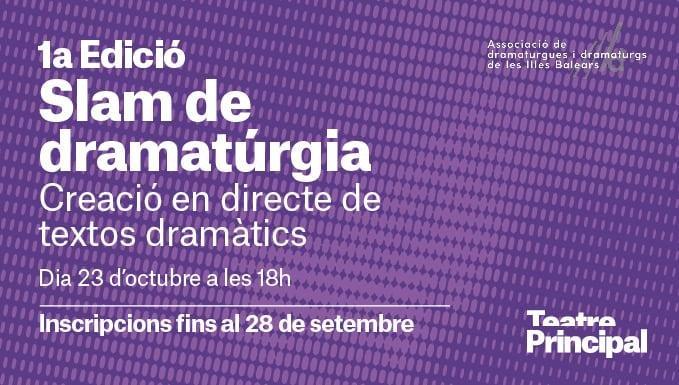 I Slam de Dramatúrgia (23-10-21)