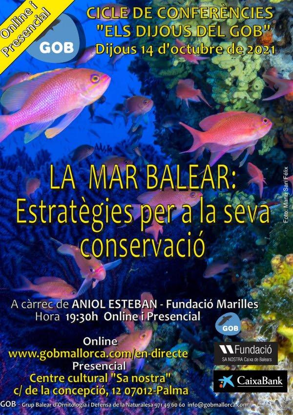 La mar balear: estratègies per a la seva conservació (14-10-21)