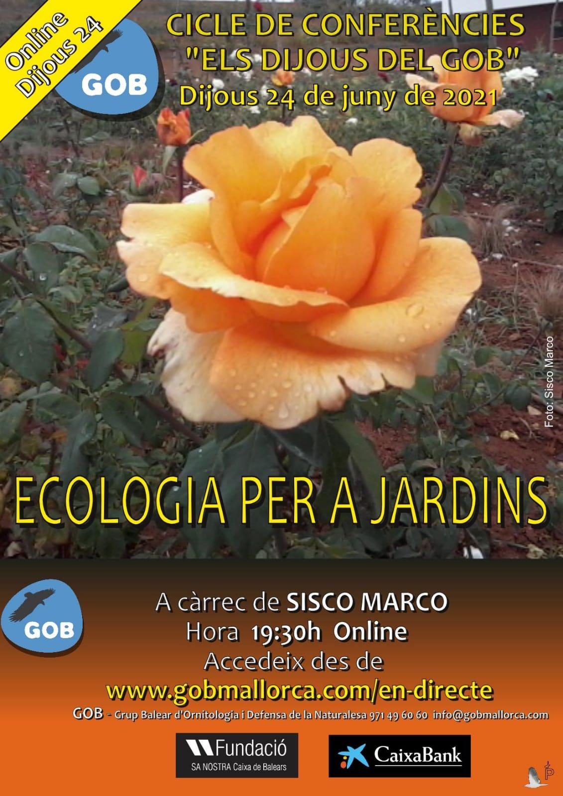 Ecologia per a jardins (24-06-21)