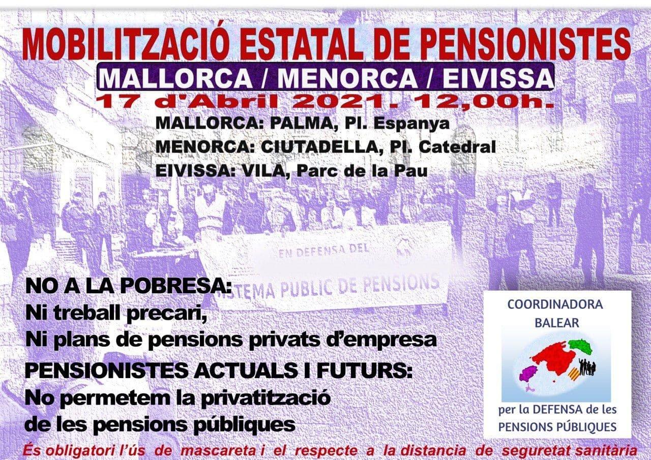 Mobilització estatal de pensionistes (17-04-21)