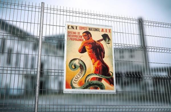 Fuera fascistas de nuestras fábricas