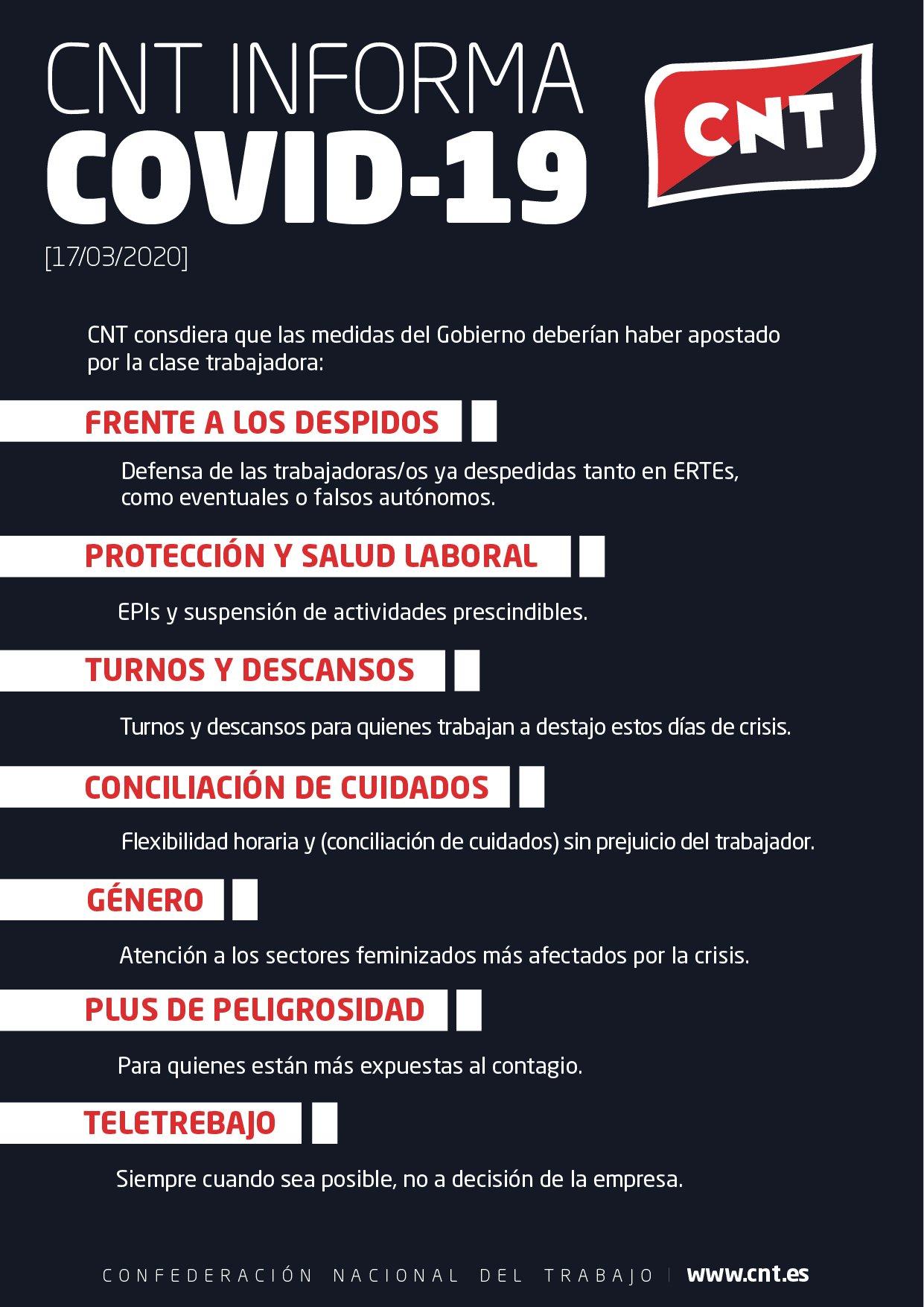 CNT Informa COVID-19