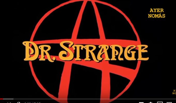 Ayer Nomas - Dr. Strange (1978) - (Video) YkTVyGS