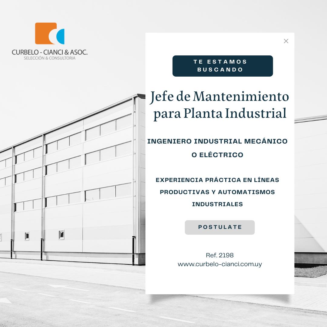 Imagen de una planta industrial en perspectiva
