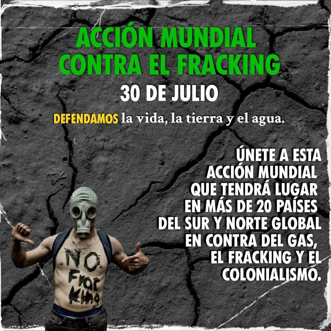 Acció mundial contra el fracking (30-07-21)