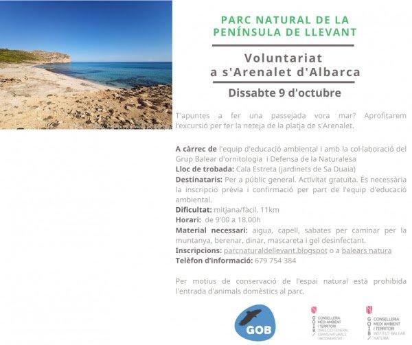 Voluntariat a s'Arenalet d'Albarca (09-10-21)