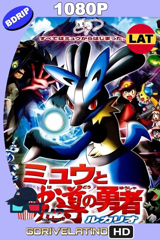 Pokémon: Lucario y el misterio de Mew (2005) BDRip 1080p Latino-Japonés MKV