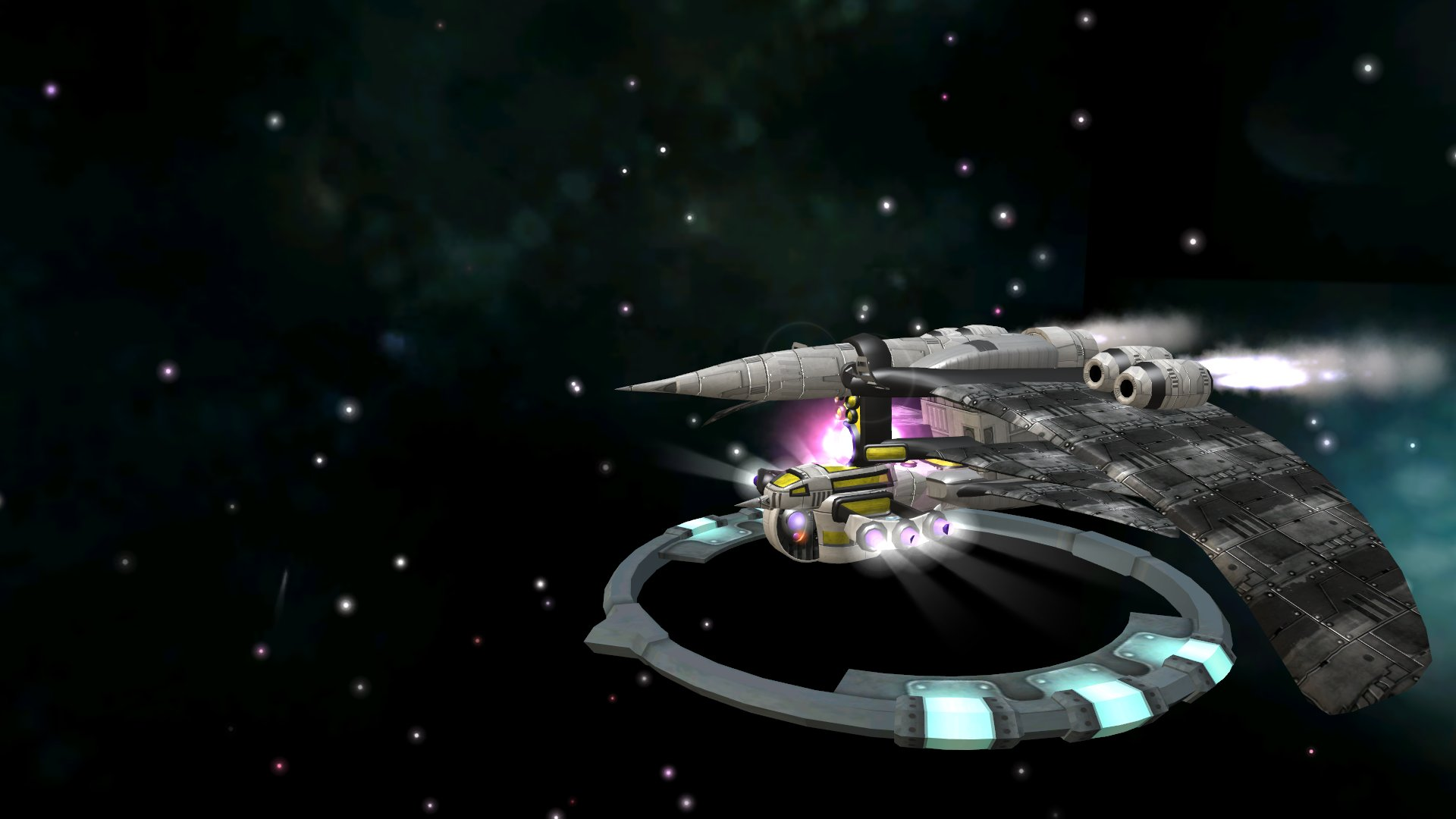 (21) Naves del imperio Neimerer 20CkSFK