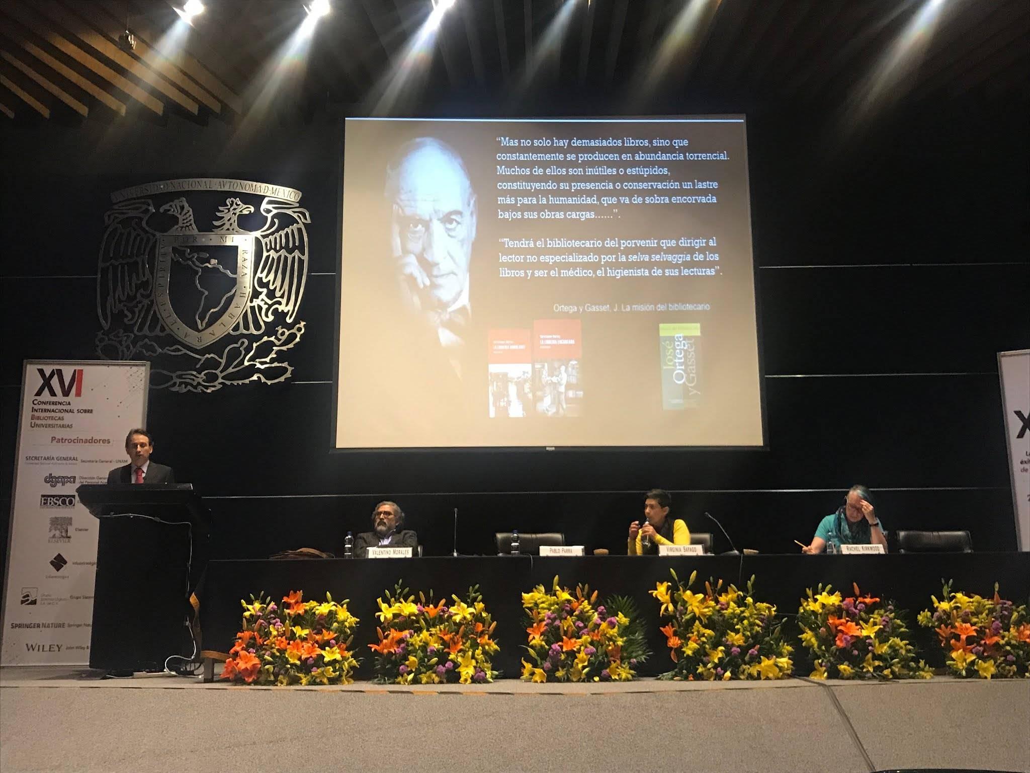COMENTARIOS sobre la XVI Conferencia Internacional sobre Bibliotecas Universitarias 2zbBVKE