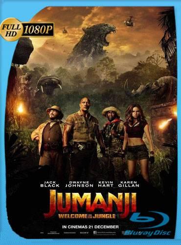 Jumanji. Welcome to the jungle 2017 [1080p WEB-DL] [Subtitulado]