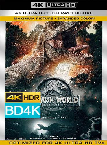 Jurassic world. Fallen kingdom 2018 [BD4K] [Latino]