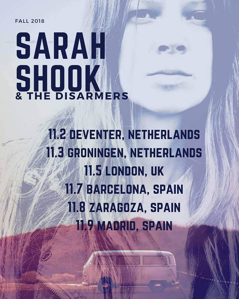 Sarah Shook & The Disarmers / Country crudo, actitud punk 4oEf9e5
