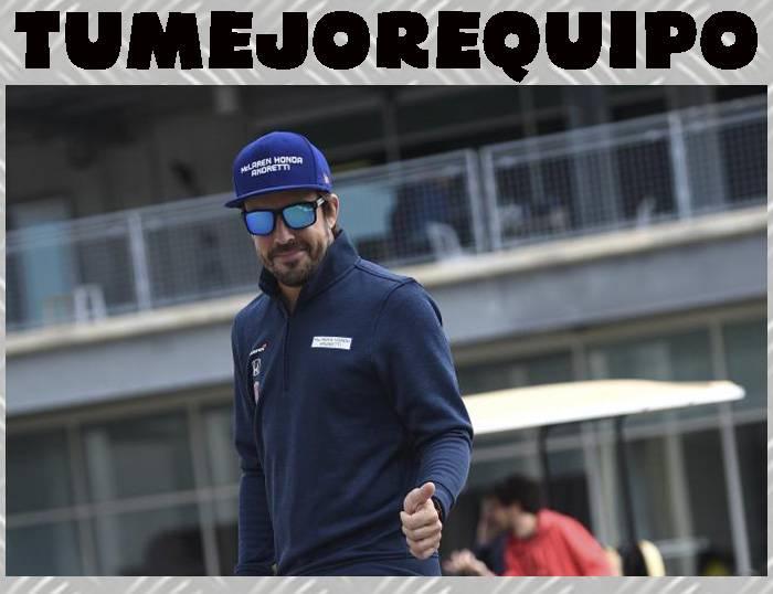 "Fernando Alonso: ""Mi primer objetivo es seguir en Fórmula 1 y ganar"" 6P54iyW"