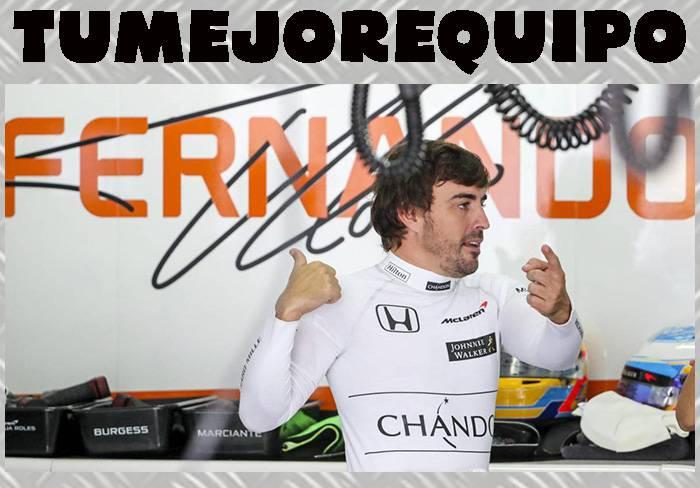 Fernando Alonso, el piloto más famoso del mundo 9AKF0O4