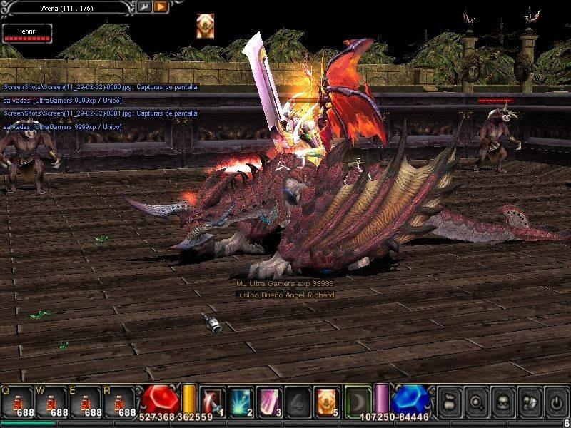Skin Fenrir Dragon ! para mu online  9fDIO7G