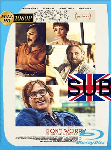 Don't worry, he won't get far on foot 2018 [1080p BRrip] [Subtitulado]