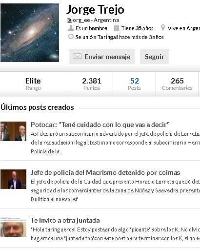 Cuantos post sobre Macri se crean en Taringa x Día? Veamos