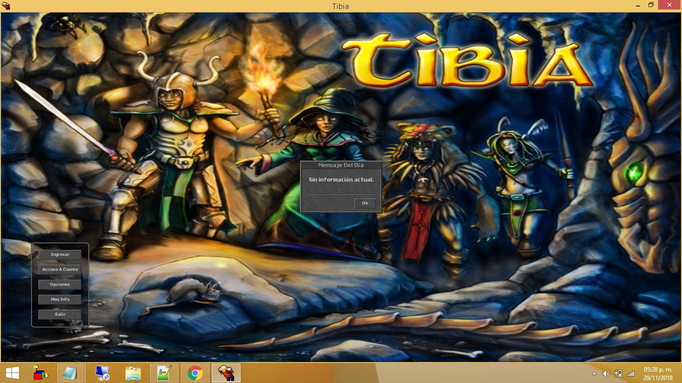 Tibia Client 8.60 Totalmente en Español CGpPwtc
