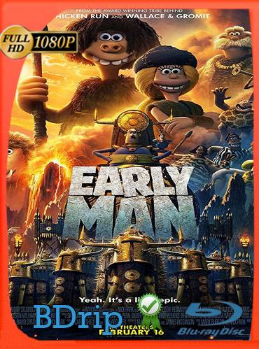 Early man 2018 [1080p BDrip] [Latino-Inglés]