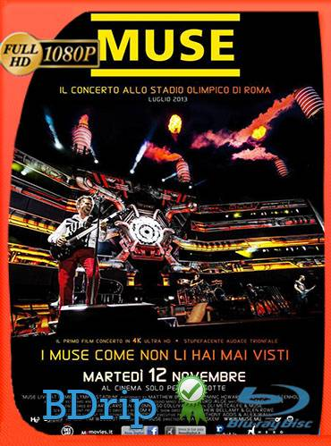 Muse. Live at Rome olympic stadium 2013 [1080p BDrip] [Inglés]