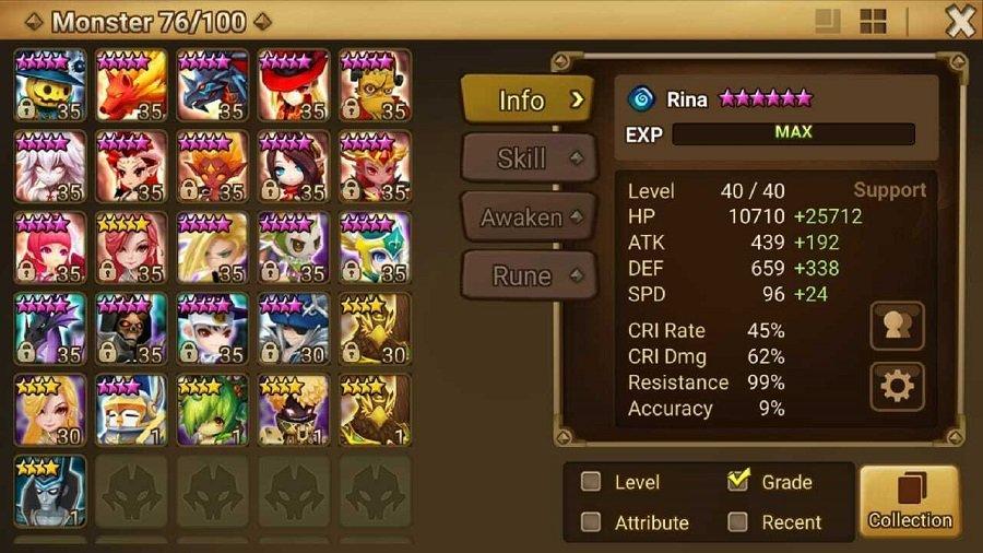 summoners war account trade