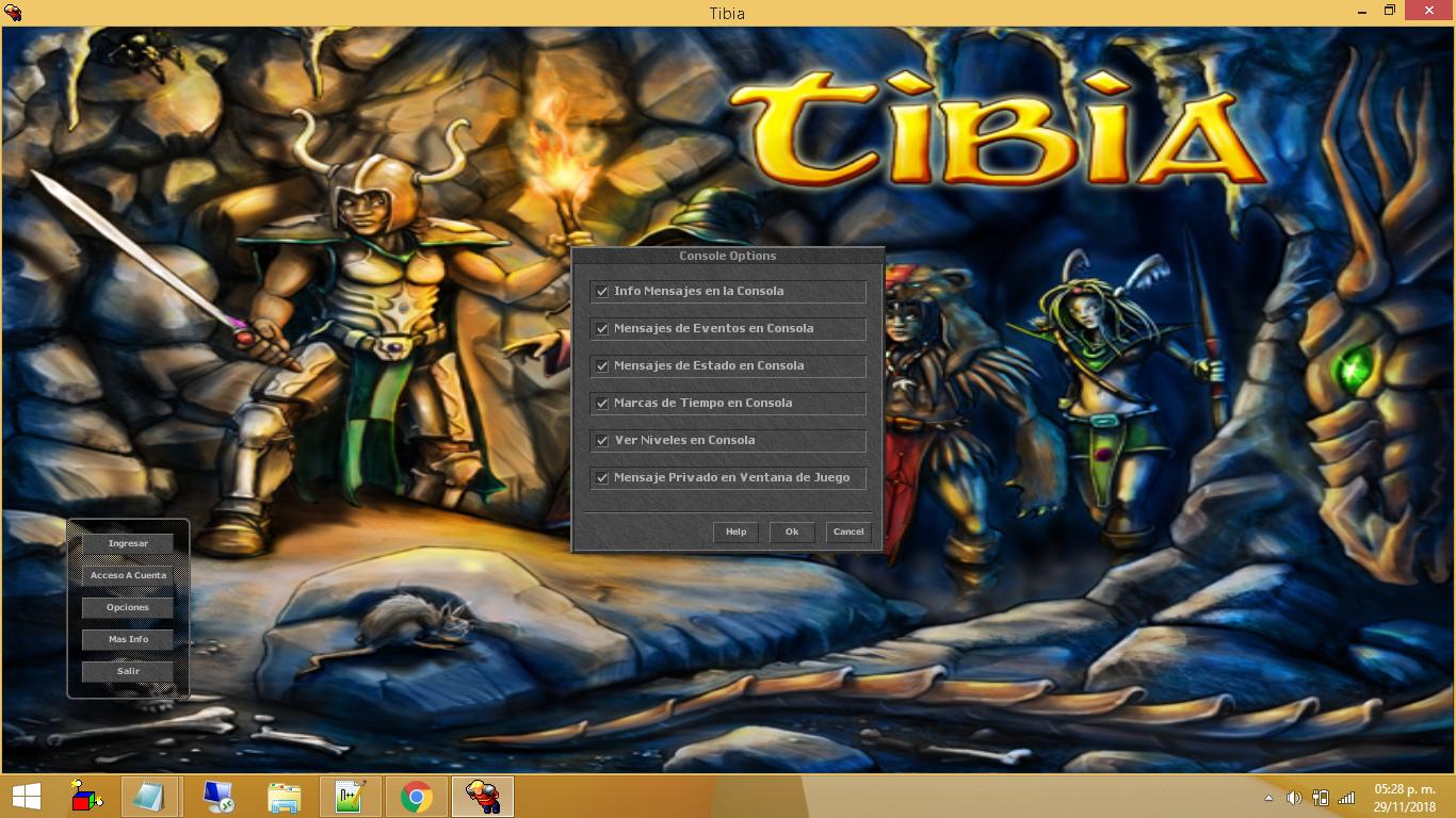 Tibia Client 8.60 Totalmente en Español Jo6qdMF