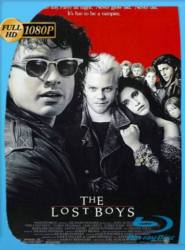 The lost boys 1987 [1080p BRrip] [Latino-Inglés]