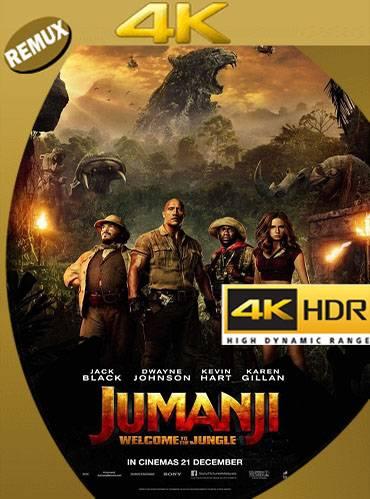 Jumanji. Welcome to the jungle 2017 [BD4K Remux] [Multi audio]