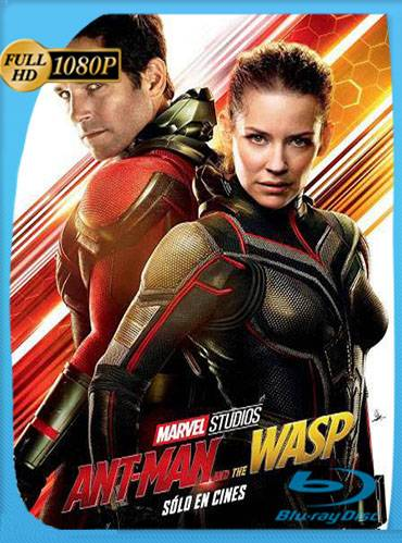 Ant-Man and the Wasp 2018 [1080p BRrip] [Latino-Inglés]