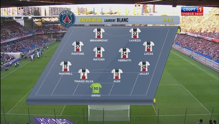 Ligue 1 2013/2014 - J1 - Montpellier Vs. Paris Saint-Germain (400p) (Ruso) NZ3An2I