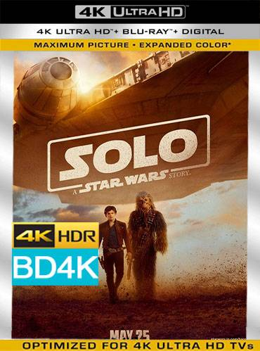 Solo. A star wars story 2018 [BD4K] [Latino]