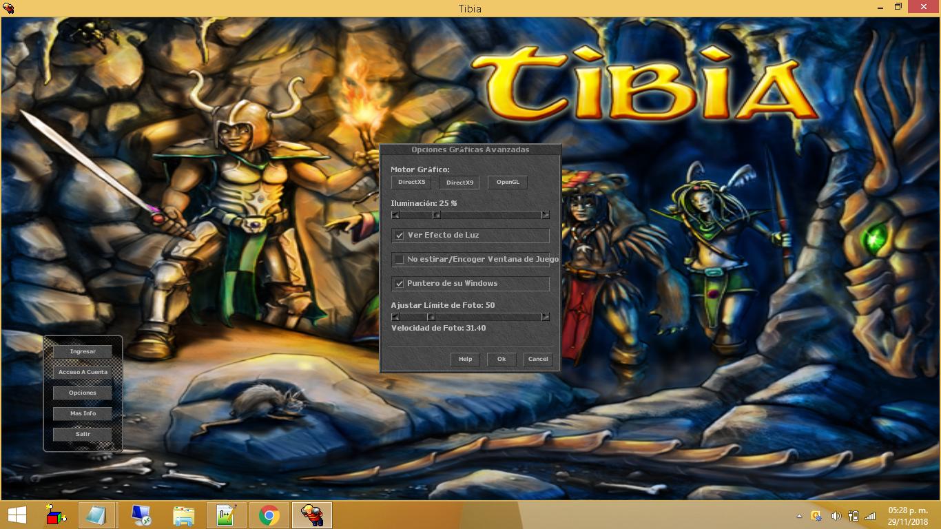 Tibia Client 8.60 Totalmente en Español PO0Qfy2