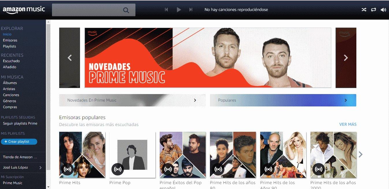 amazon music - Mejores Sitios de Descargas Gratuitas de Música