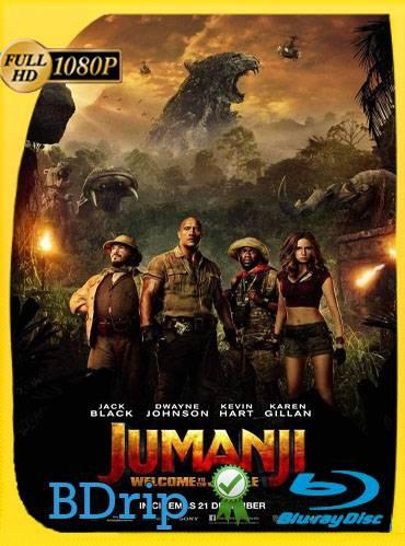 Jumanji. Welcome to the jungle 2017 [1080p BDrip] [Latino-Inglés]