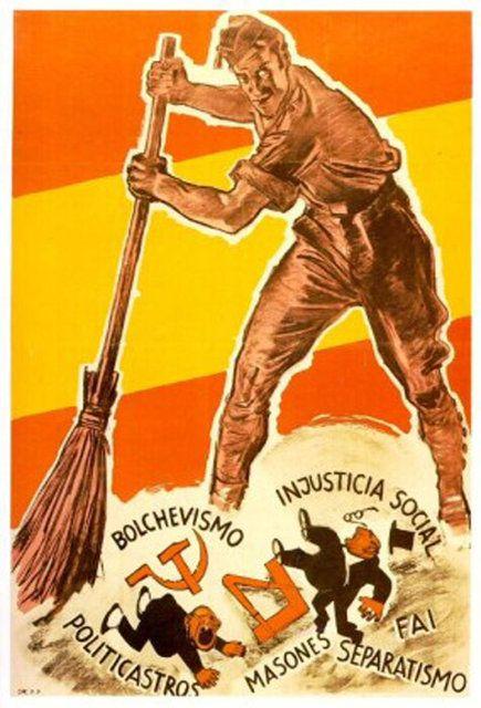 Representa este cartel de la guerra civil un hombre concienciado con la conciliación? SuHXFpy