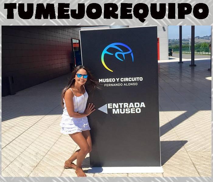 Un día en el Museo y Circuito Fernando Alonso Tg78GSI