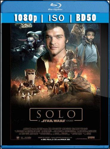 Solo. A star wars story 2018 [BD50] [Latino]