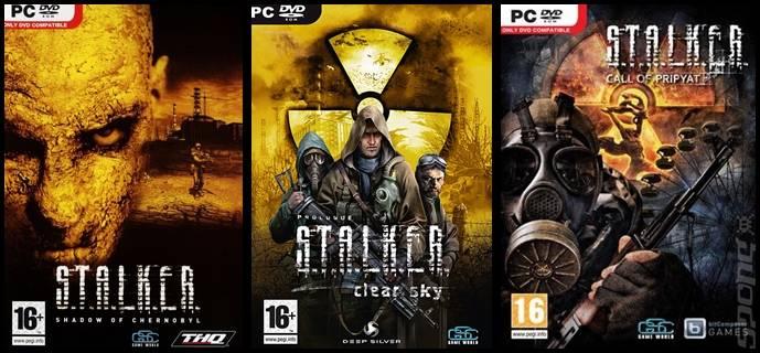 Resultado de imagen de Stalker Trilogy Gold Edition PC COVER