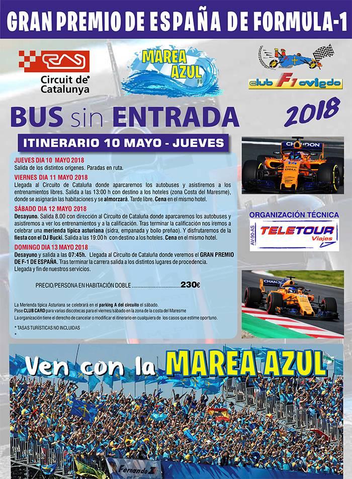 Gran Premio de España 2018 - Viaja con la Marea Azul V19YSIg