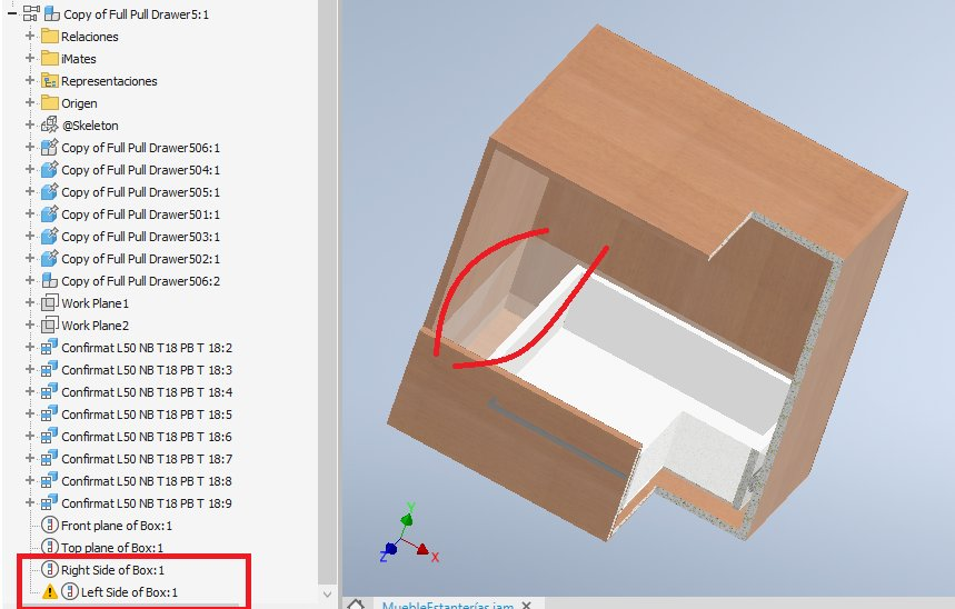 RE: Problem with drawer and change its width