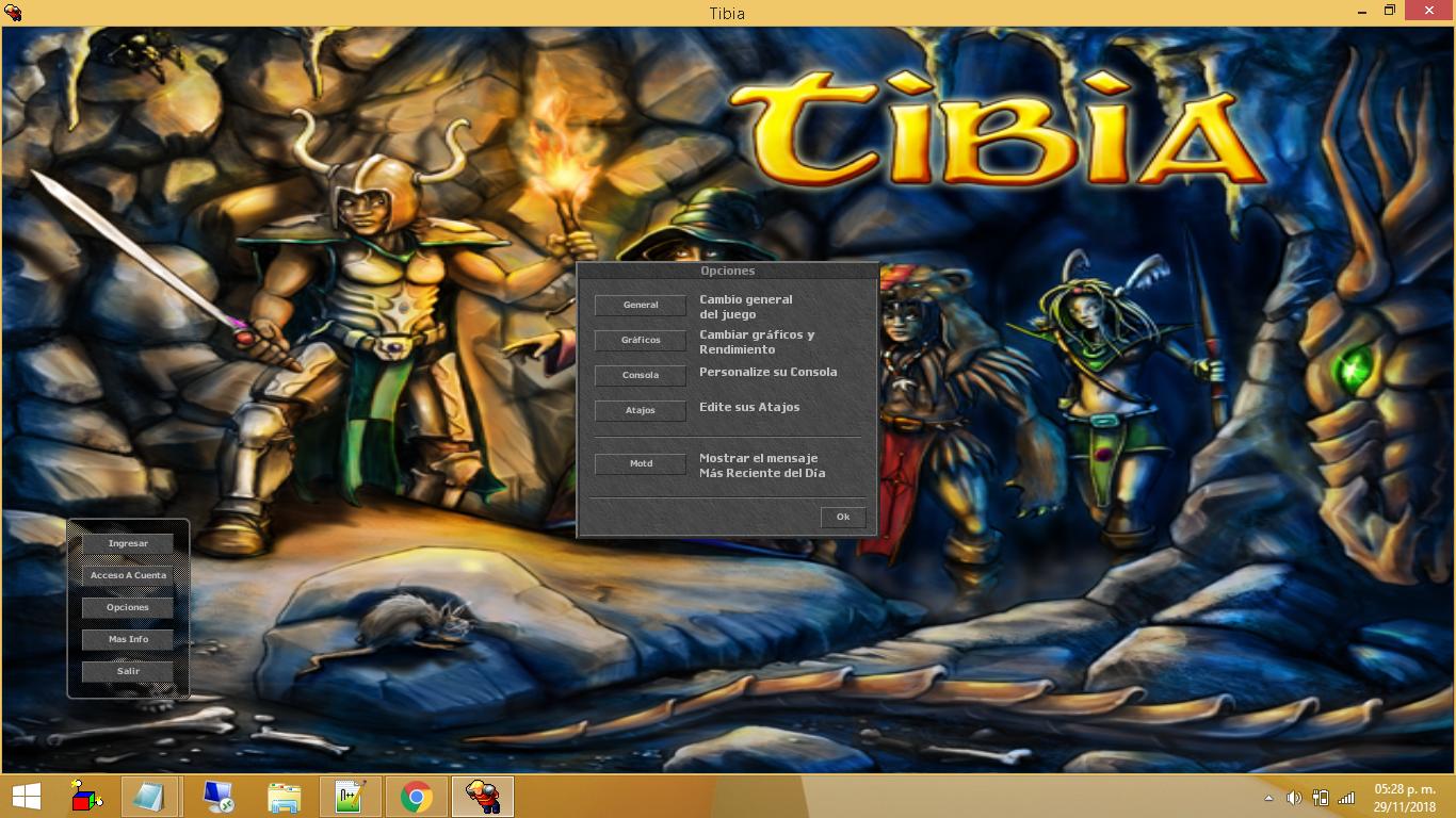 Tibia Client 8.60 Totalmente en Español V91NKbz