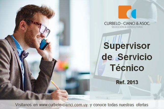 Supervisor de Servicio