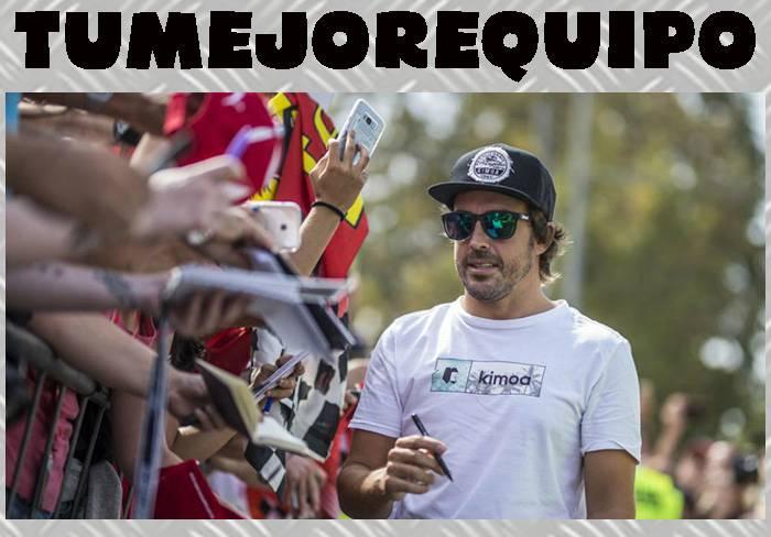 """Fernando Alonso:""""No ha cambiado nada desde diciembre y quiero ganar en 2018"""" WeYLwFO"""