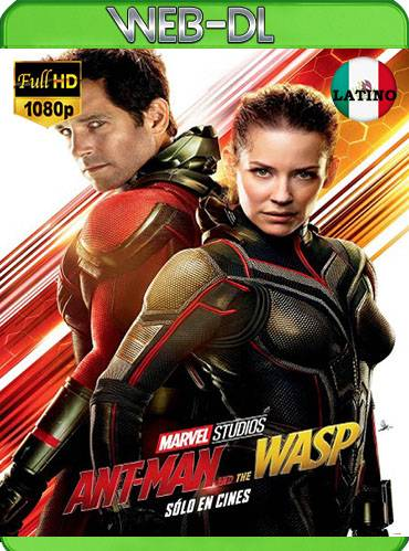 Ant man and the wasp 2018 [m1080p WEB-DL] [Latino-Inglés]