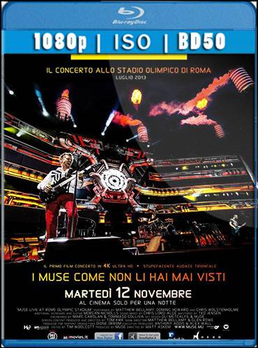 Muse. Live at Rome olympic stadium 2013 [BD50] [Inglés]