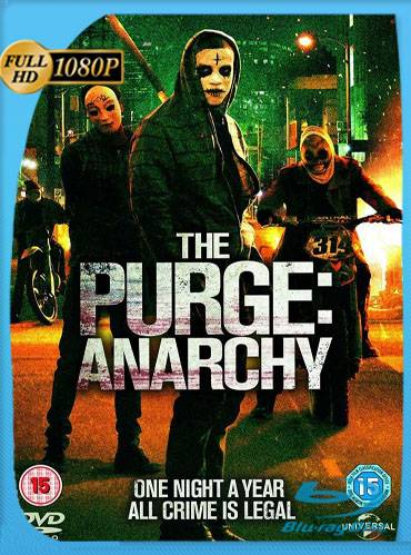 The purge. Anarchy 2014 [1080p BRrip] [Latino-Inglés]