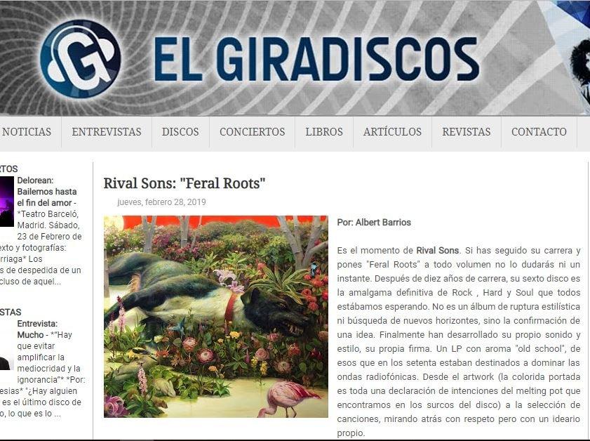 RIVAL SONS (Blues / Psychedelic / Rock): TEMAZOS!!! - Página 9 Xrg15tS