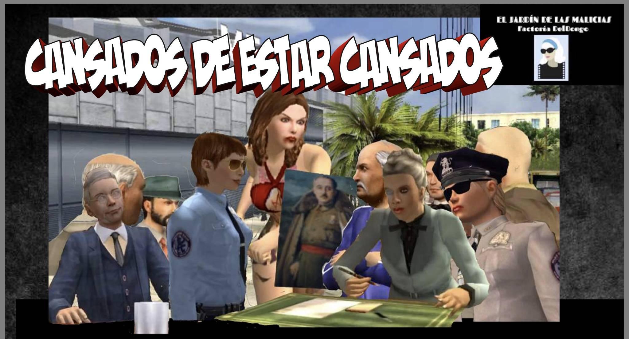 CANSADOS DE ESTAR CANSADOS (cómic) ALBfviO